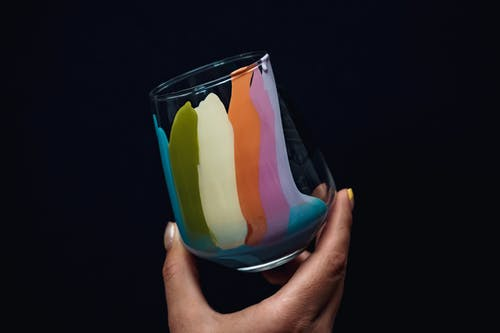 Multicolored Glass
