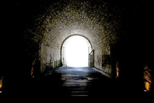Ingyenes stockfotó alagút, alagút nézet, Athén, csőlátás témában