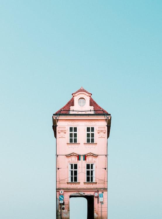 all'aperto, architettura, casa