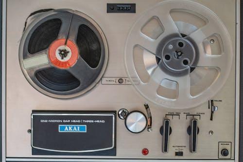 Foto d'estoc gratuïta de cassets, equip musical, estudi de música