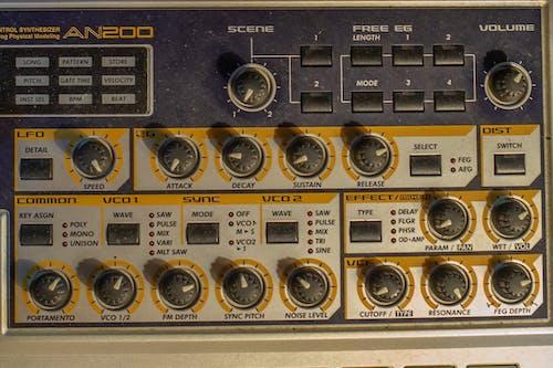 Foto d'estoc gratuïta de equip musical, freqüència, música, sintetitzador