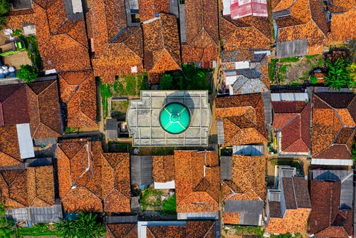 Top View Photo of Houses