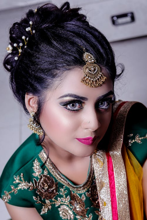 Free stock photo of girl, makeup