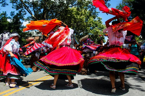 Free stock photo of art, colorful, dance, Ecuadorian Independence Day