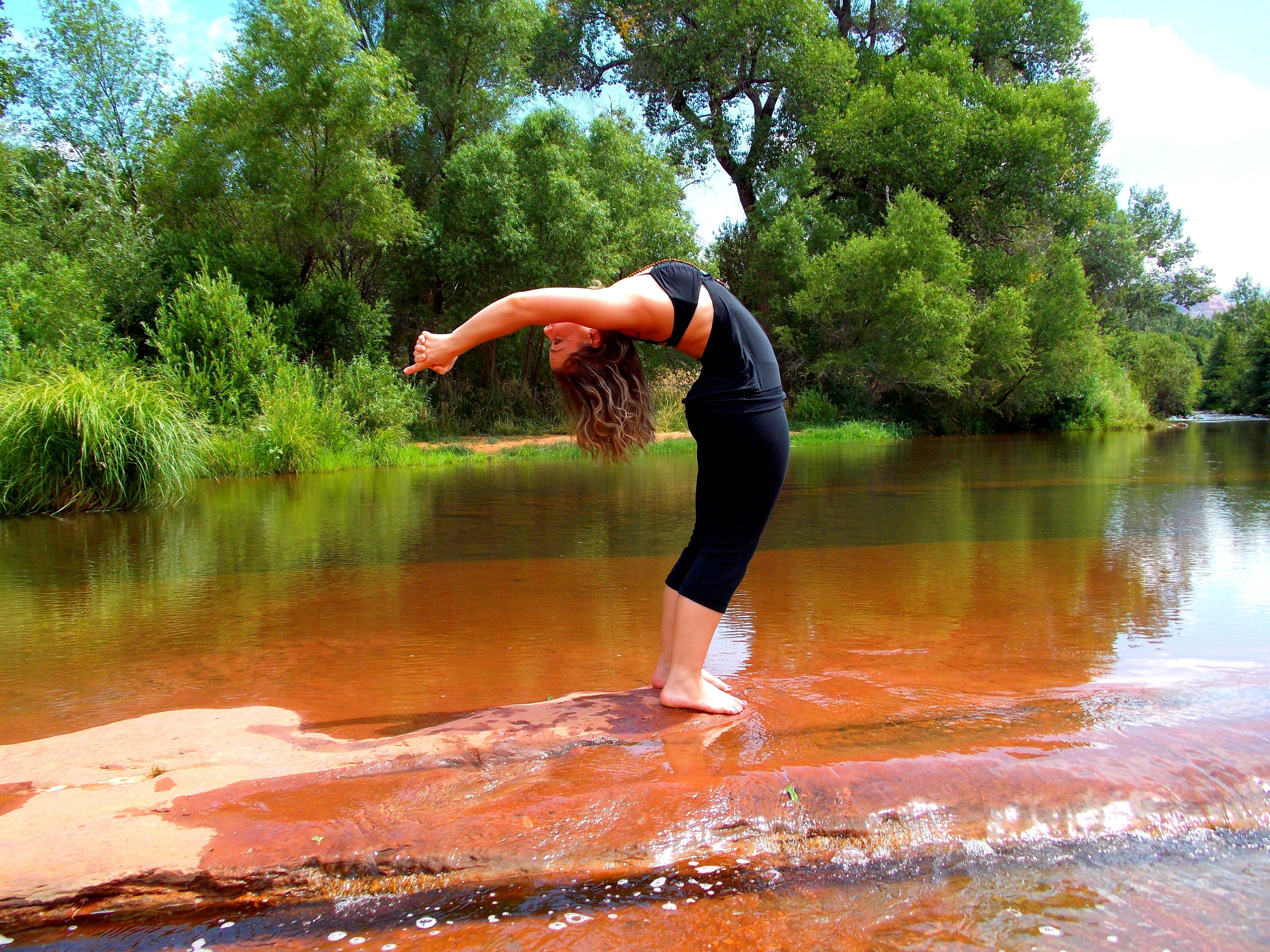 Free stock photo of backbend, exercises, fitness, girl