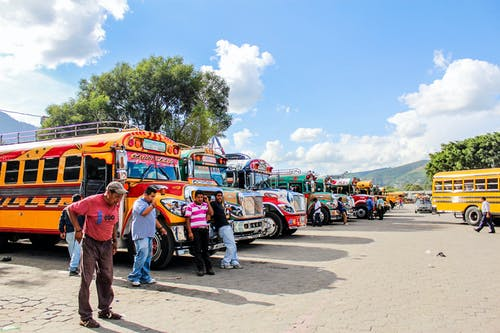 Free stock photo of ANTIGUA, chicken bus, clear sky, daylight