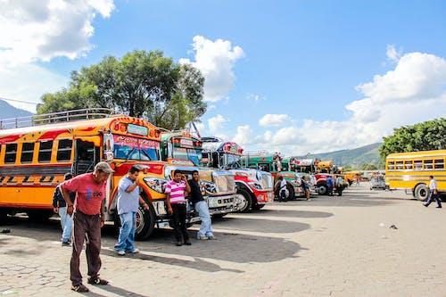 アイドル, アンティグア, グアテマラ, チキンバスの無料の写真素材