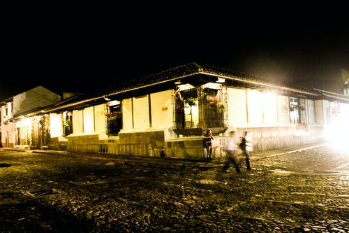 Free stock photo of colonial house, evening, hurry, latin america