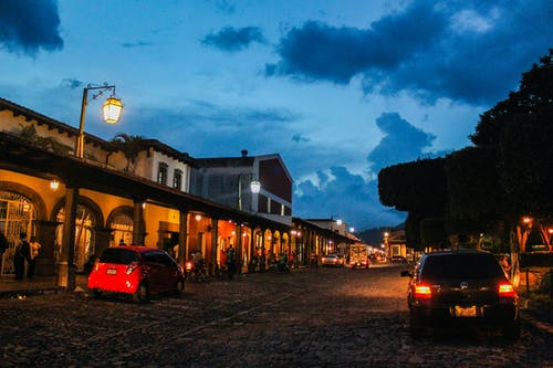 Free stock photo of ANTIGUA, car, city, clear sky