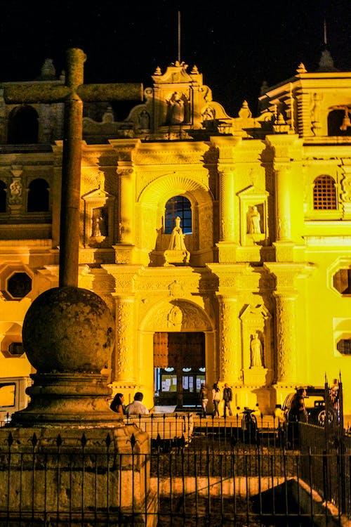 アンティグア, グアテマラ, ラテンアメリカ, 夕方の無料の写真素材