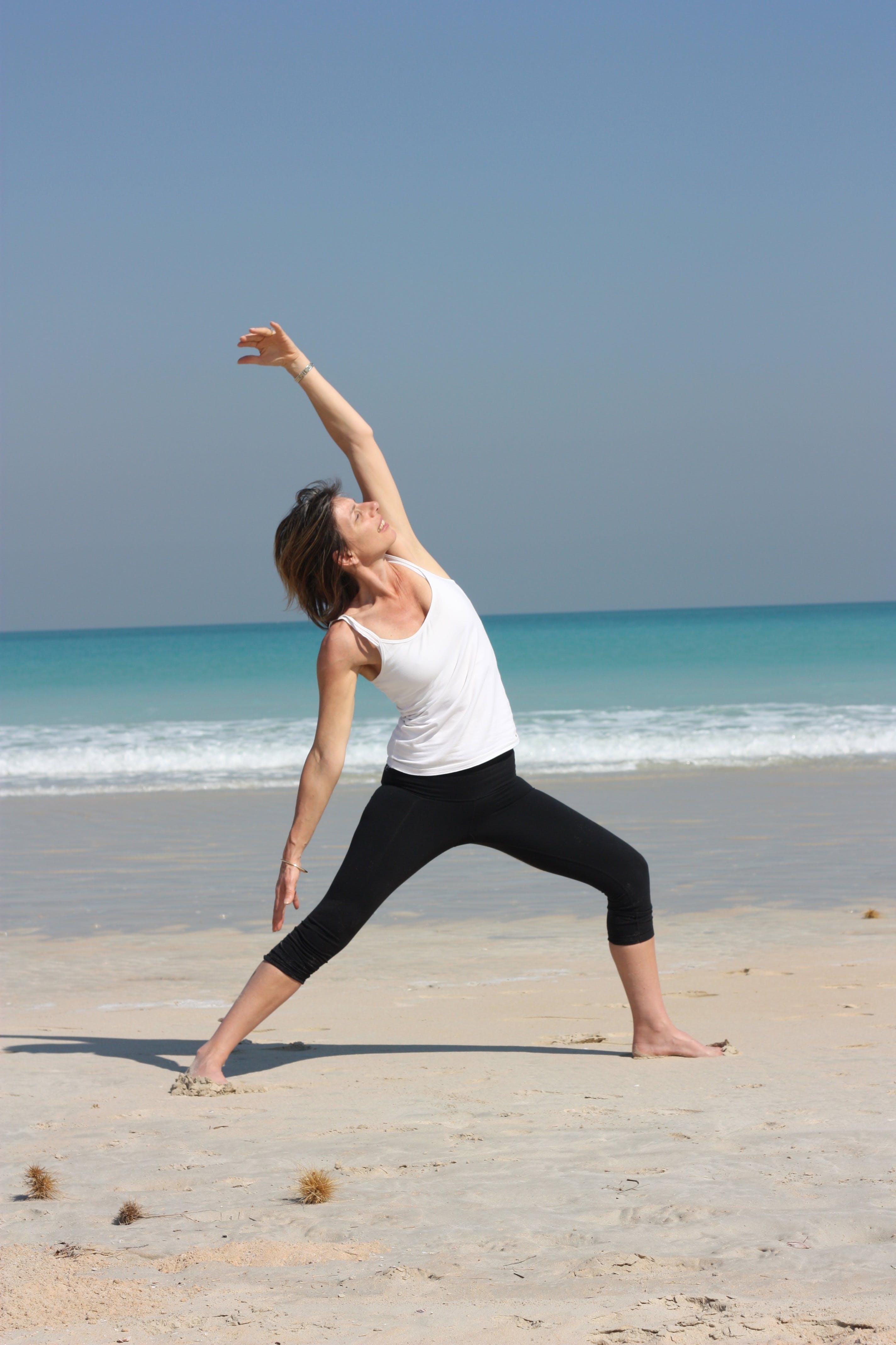 Free stock photo of activity, beach, fitness, morning