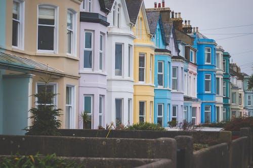Základová fotografie zdarma na téma architektura, barevný, barvy, bydlení