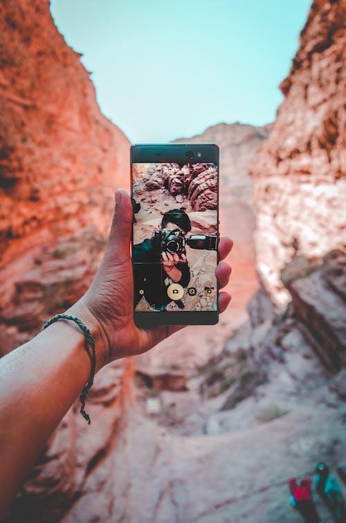 Kostenloses Stock Foto zu nikon, selfie, sony