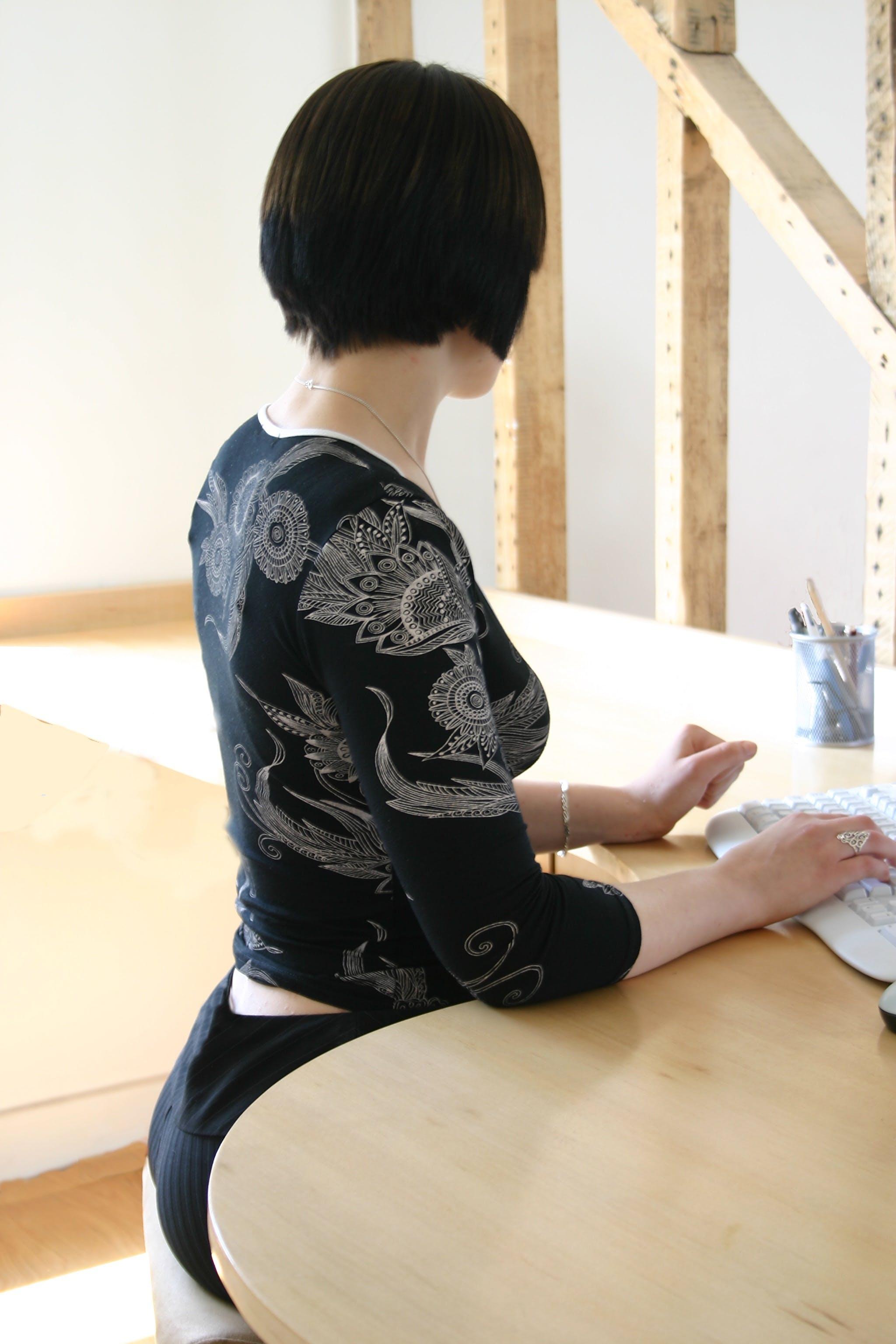 Free stock photo of woman, sitting, health, yoga