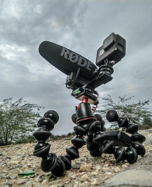 Fotobanka sbezplatnými fotkami na tému GoPro, gurillapod, jazdil na mikrofóne, lowangle