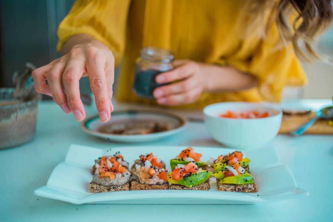 Close-Up Photo Of Sushi