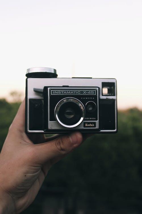 内布拉斯加州, 復古相機, 日落, 相機 的 免费素材照片