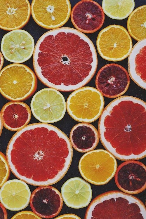 amarillo, cítricos, colores
