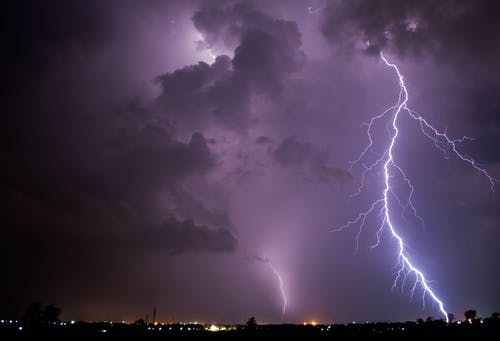 Бесплатное стоковое фото с HD-обои, бросок, буря, вечер