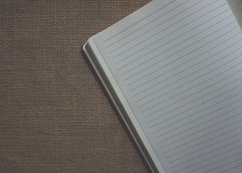 Free stock photo of notebook, school, document, paper