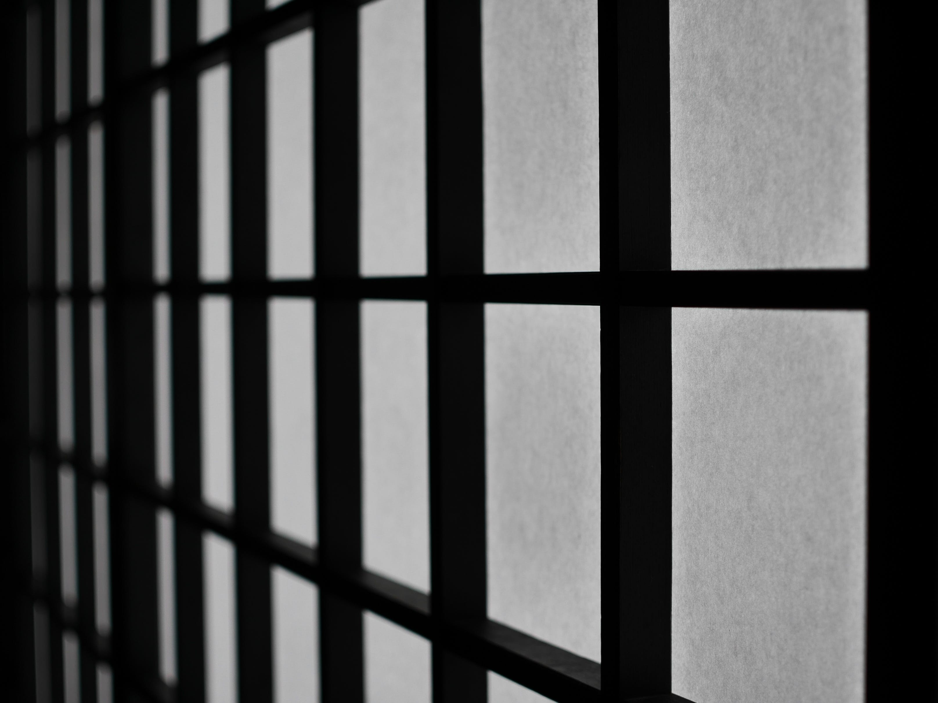 black-and-white, pattern, squares