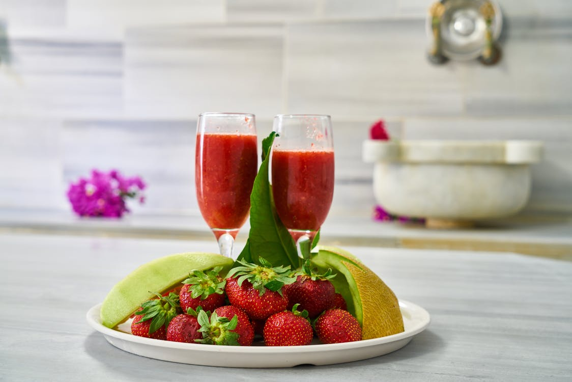 bær, cocktail, delikat