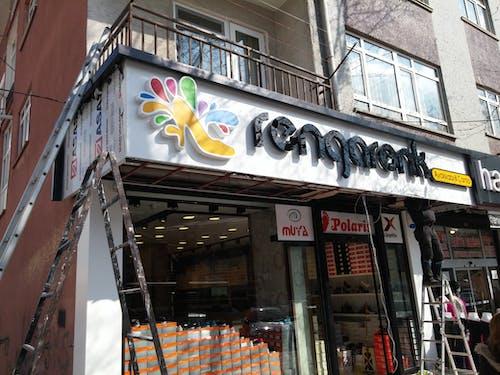 Foto d'estoc gratuïta de #metadizayn # ışıklı #tabela #design #advertise #le