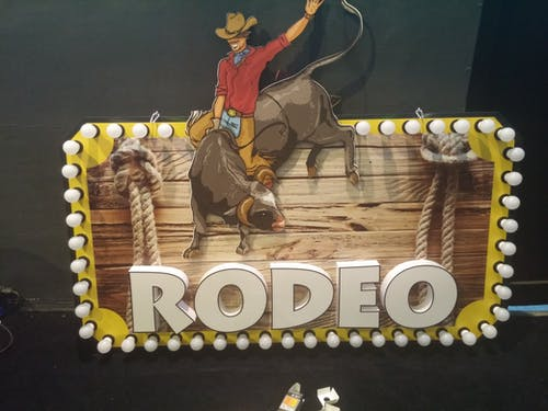 Foto d'estoc gratuïta de #rodeo #metadizayn # ışıklı #tabela #light #reklama