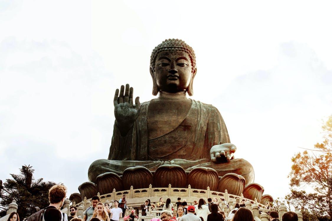 architektura, buddha, buddhistický chrám