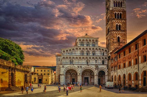 Photo of The Saint Martin Cathedral in Lucca, Italy