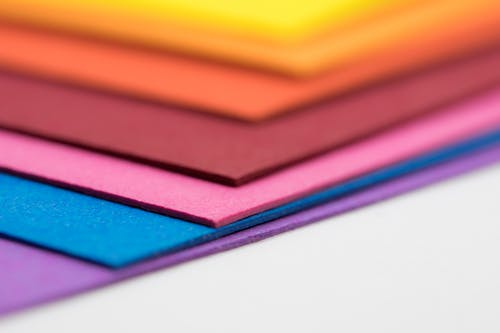 Assorted-color Paper Mats