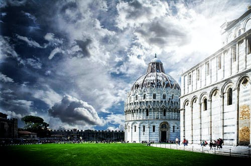 Free stock photo of leaning tower of pisa
