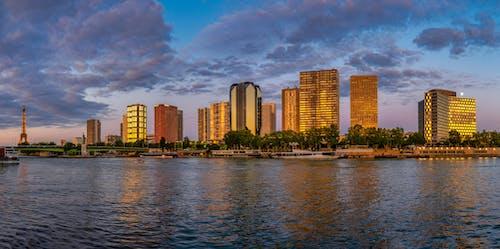 Foto d'estoc gratuïta de arquitectura, edificis, parís, riu