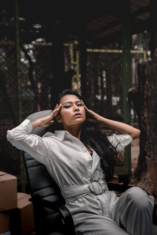 Kostenloses Stock Foto zu fashion, frau, hübsch, model
