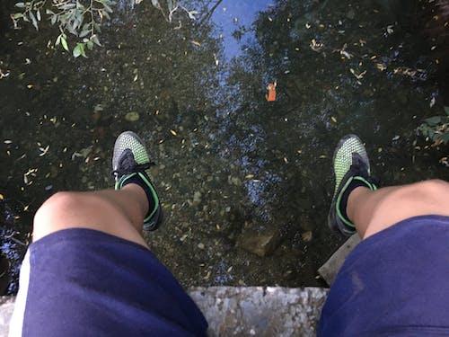 Imagine de stoc gratuită din apă, apă curgătoare, fotbal, picioare