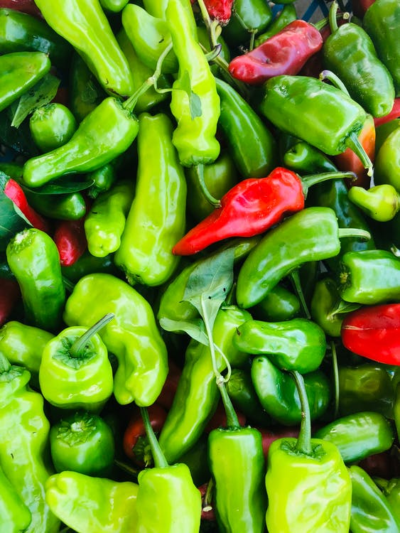 Close-Up Photo of Bell Peppers