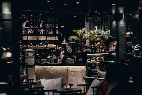 바 카페, 여행의 무료 스톡 사진