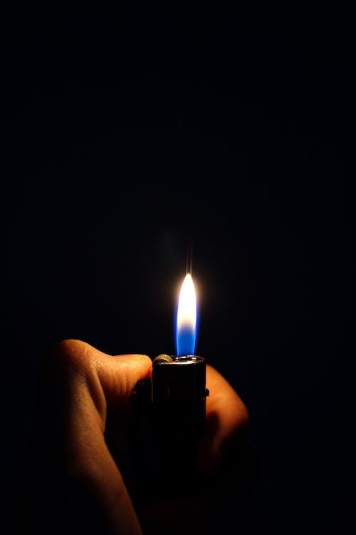 Free stock photo of fire, lightner, lightning