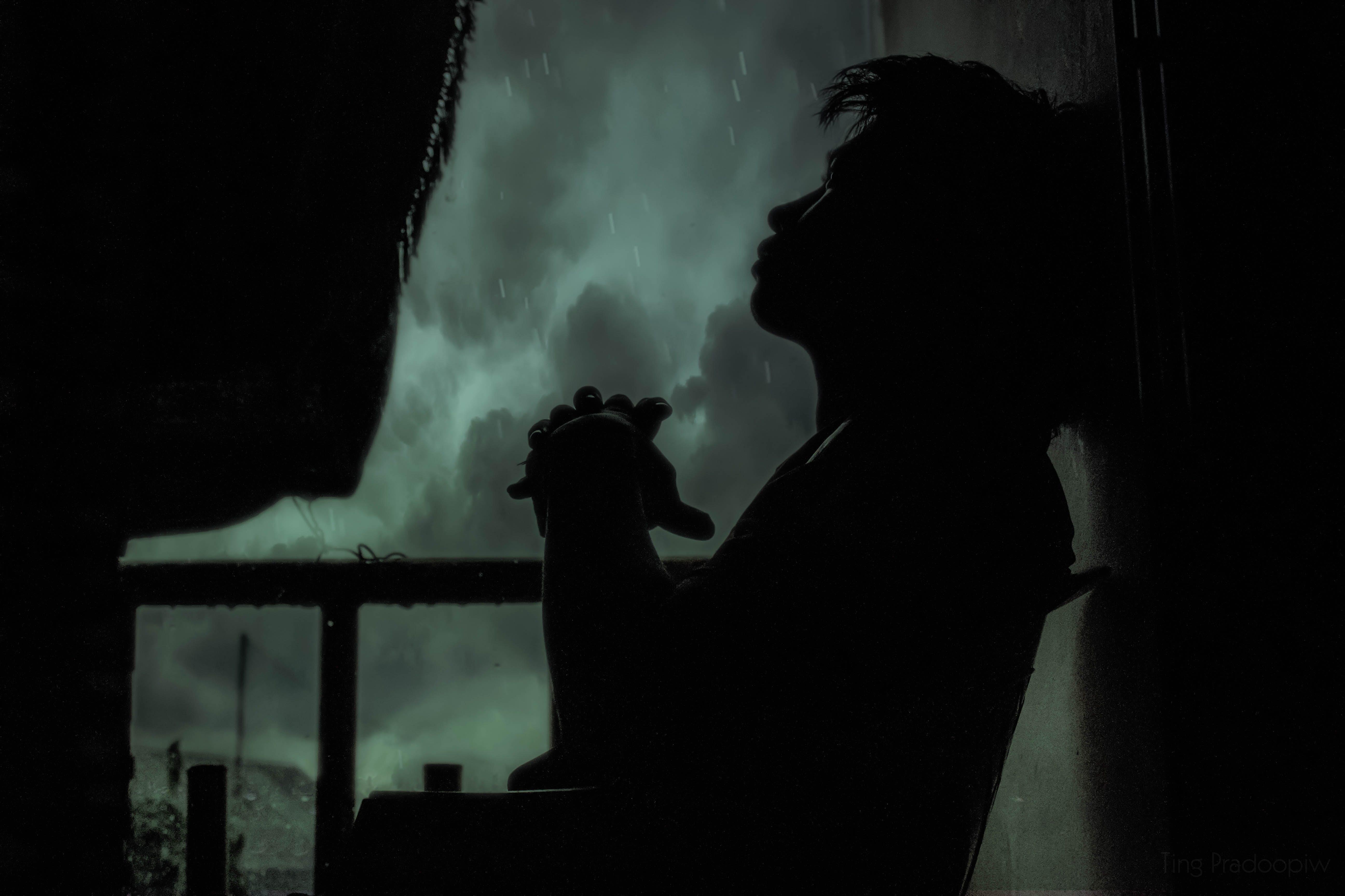 Kostenloses Stock Foto zu allein, betrübt, bewölkt, dunkel