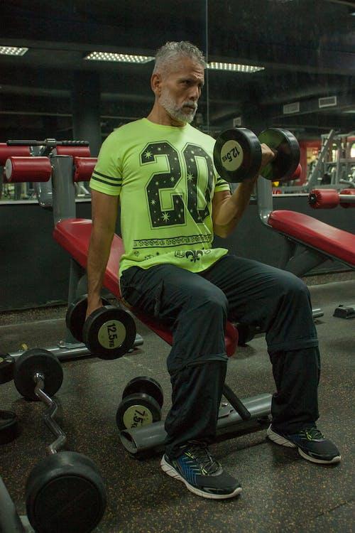 antrenament, fitness, greutăţi