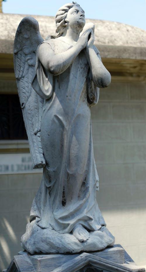 Darmowe zdjęcie z galerii z anioł, artystyczny, budynek, cmentarz