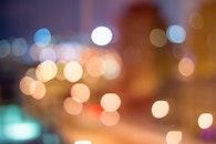 lights, night, pattern