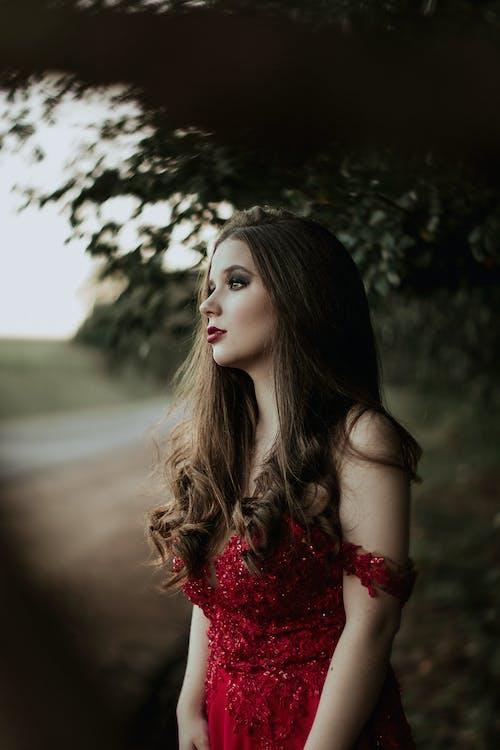 グラマー, スタイル, セクシー, ドレスの無料の写真素材