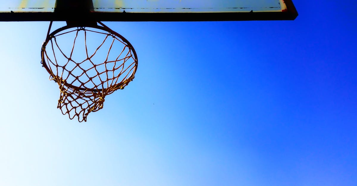 Free stock photo of Basketball Hoop, blue sky, clear sky