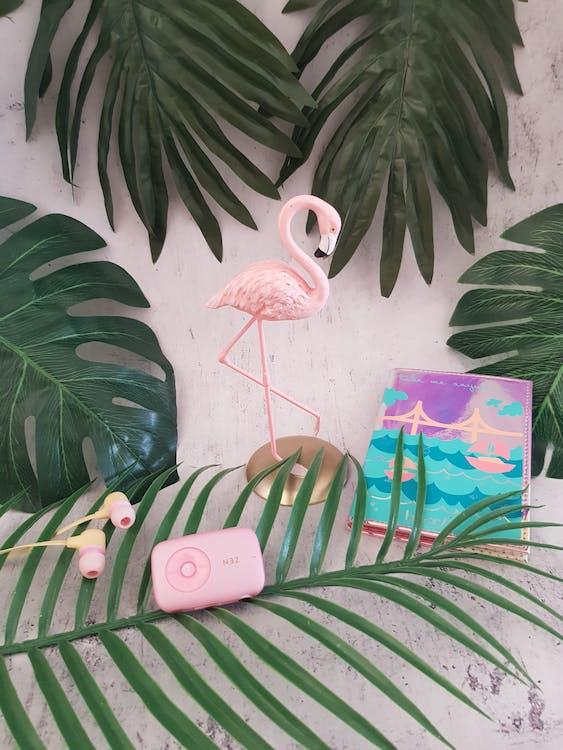 Pink Flamingo Table Decor