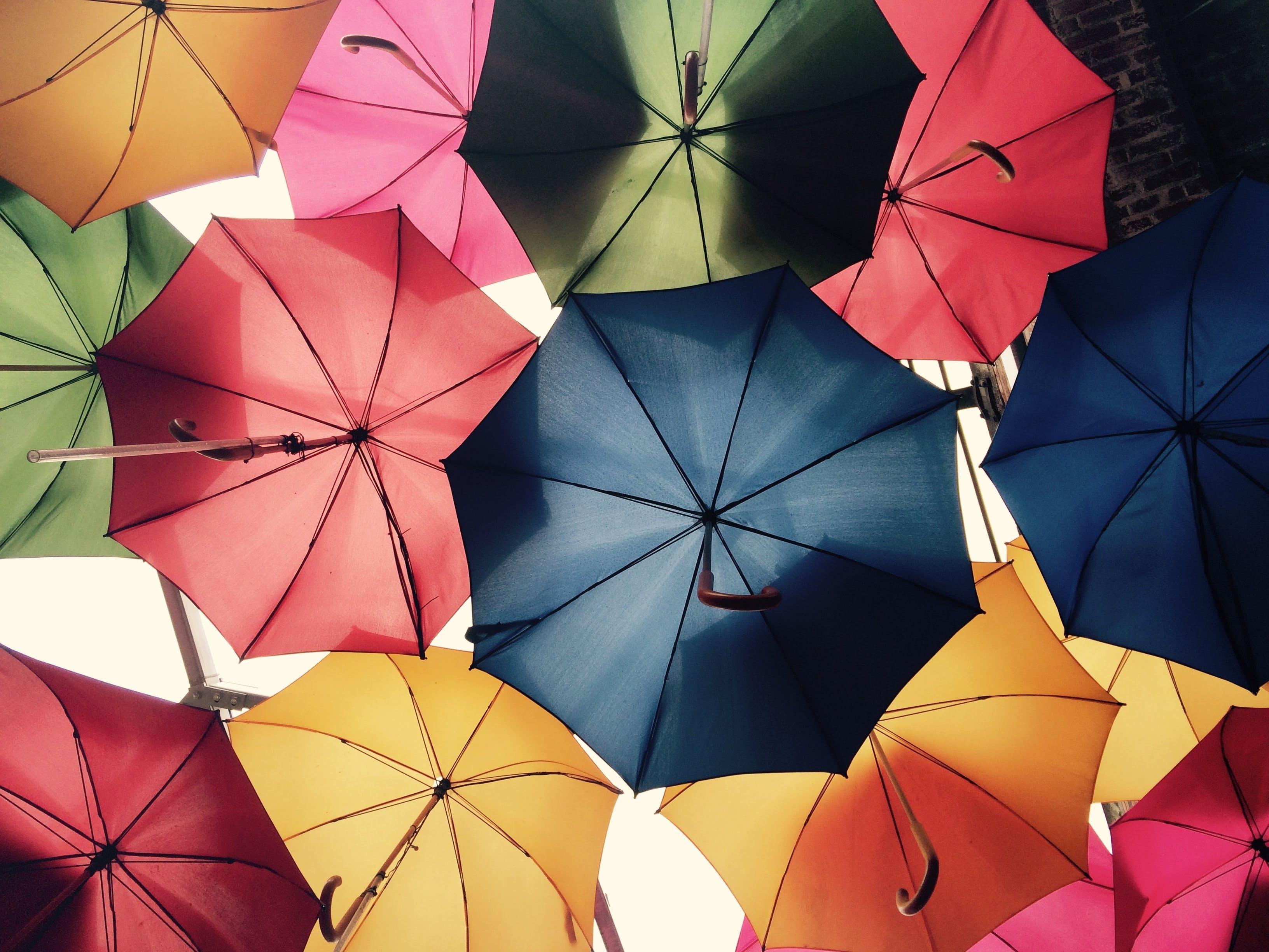 Foto profissional grátis de brilhante, capa, cheio de cor, chuva