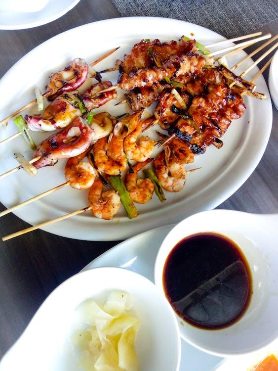 азіатська їжа, азіатська кухня, барбекю