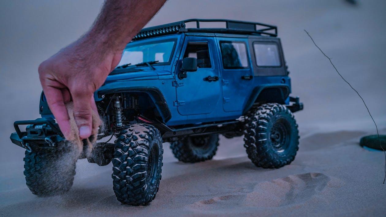 4x4, jeep, miniature