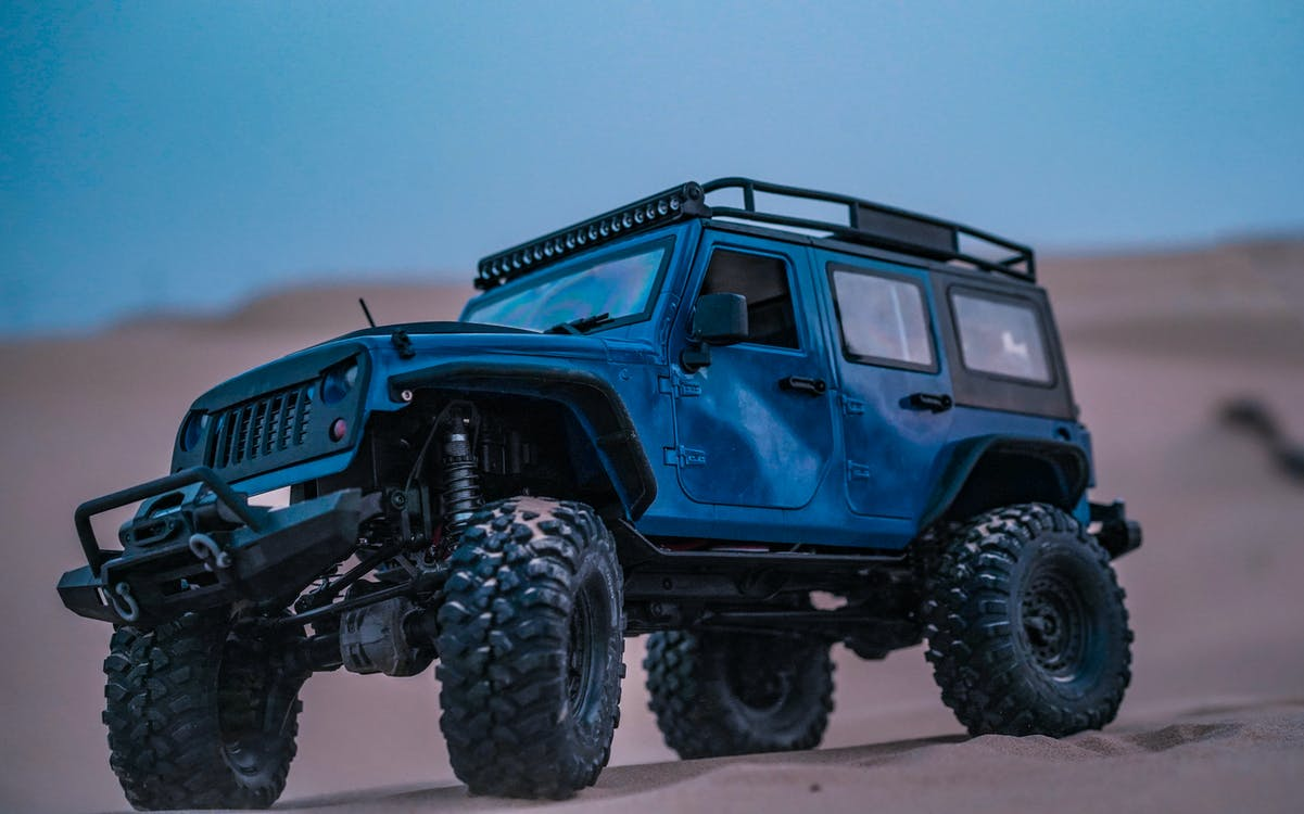 4x4, jeep, miniature