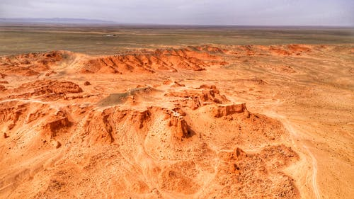 Panoramic Photography of Desert